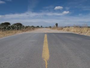 Dirt road Mexico